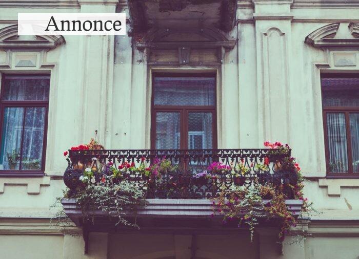 Lys og frisk luft til din bolig med en altan