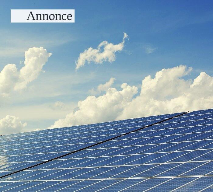 Nedbring udledningen af C02 ved at få installeret et solcelleanlæg