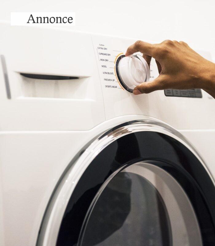 Guide: Vælg den rigtige vaskemaskine