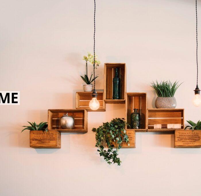 Vælg hylder, der kan integreres i din indretning